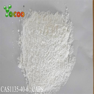 CAPS  CAS: 1135-40-6   N-Cyclohexyl-3-aminopropanesulfonic acid